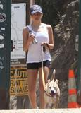 Jenna Dewan | Walking the Dog in Hollywood | May 29 | 8 pics