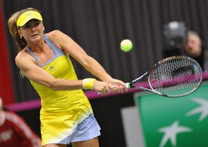 Daniela Hantuchova - 2013 Fed Cup 1st round - Slovakia vs. Serbia February 9 and 10