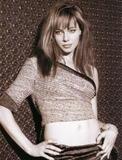 Melinda Clarke Black And White Photoshoot {X3}