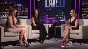 RE: Kim/Kourtney Kardashian on Chelsea Lately (video)