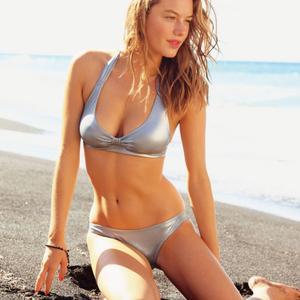 Камилль Роу, фото 35. Camille Rowe 3 Suisses 2011 Bikini Photoshoot, photo 35