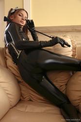 lina   black latex