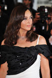 Monica Bellucci at Le Silence de Lorna premiere during the 61st International Cannes Film Festival in Cannes