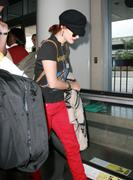 Drew Barrymore @ LAX Airport 12-08-2011