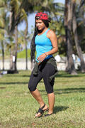 Christina Milian - after a workout in Miami 01/25/13